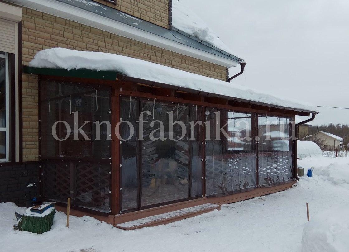Троицк. Терраса с мягкими окнами