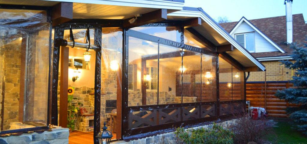 мягкие окна для веранд